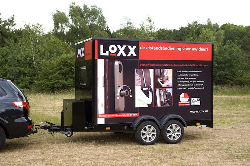 LoXX - Fabrikant van een draadloze deuropener